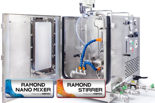 研究機関向け超高密度ウルトラファインバブル(ナノバブル)発生装置「ナノクイック®」
